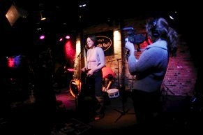 October 2009, filming continues on the Jill Stevenson Band documentary, Don't Look Down.