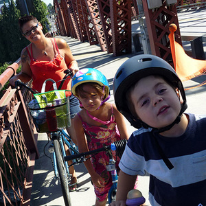 Travel With Your Children by Bike