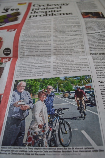"""Vancouver's """"cycling experts"""" in New Zealand"""