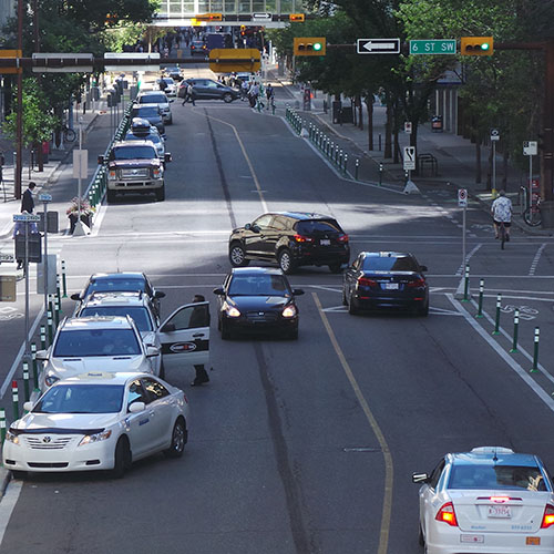 Calgary Cycle Track Network: An Overnight Success Story, Five Years in the Making