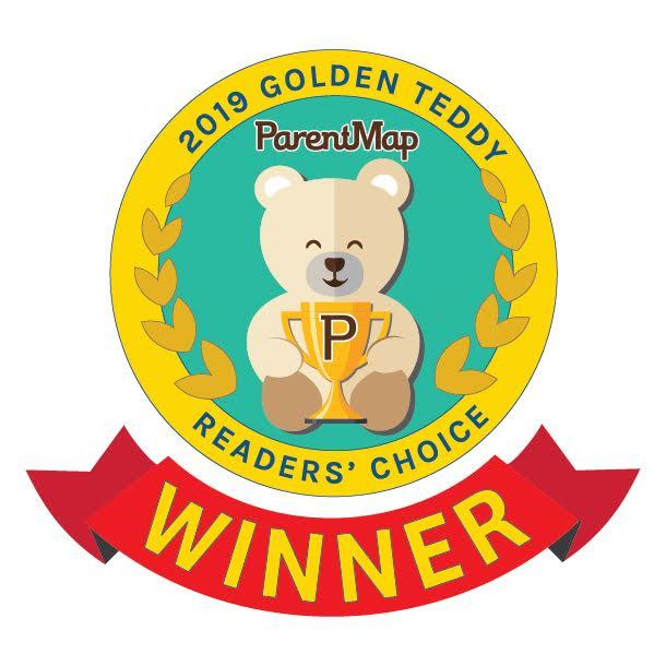 ParentMap Golden Teddy Award Finalist 2018 and Winner 2019