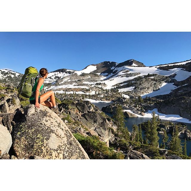 I've hiked many miles throughout Desolation Wilderness, but every trip there still awaits a new gem to be found! #tahoelife #backpacking #adventureawaits