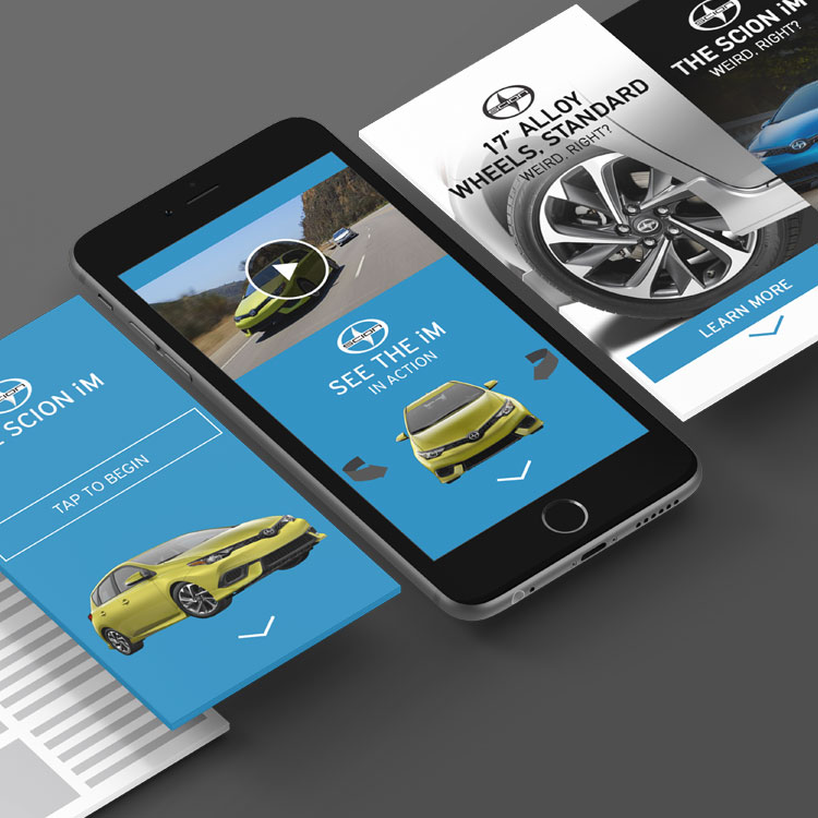 RICH-MEDIA AD DESIGN  Hearst Autos // Jumpstart     VIEW PROJECTS       >