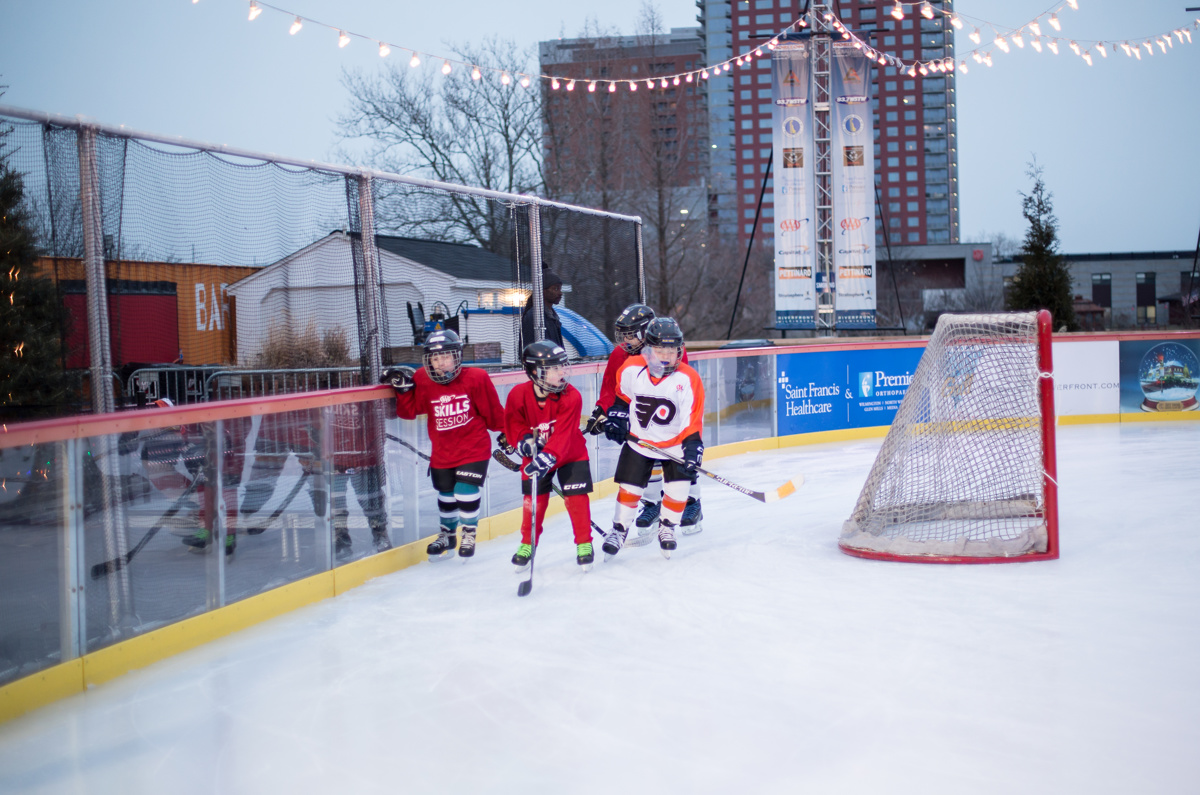 Special Games at The Riverfront Rink - Photo by Debbie-Jean Lemonte