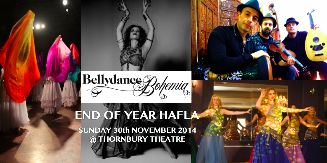 Bellydance Bohemia's End of Year Hafla, 2014