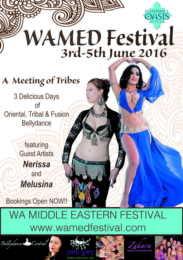 WAMED belly dance festival, belly dance Melbourne