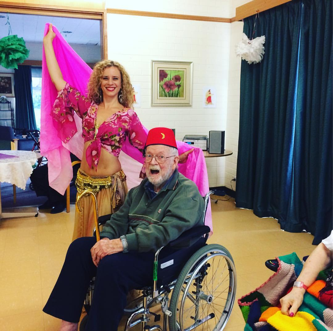 belly dance Melbourne, belly dancer Melbourne, aged care entertainment