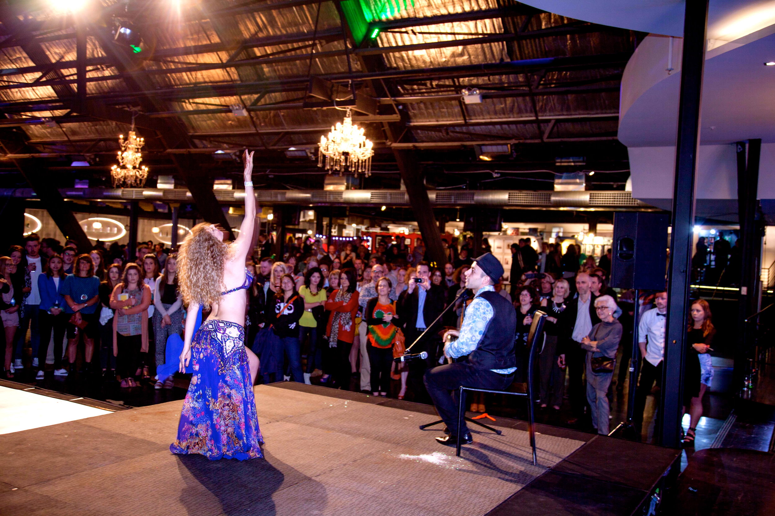 belly dancer and live drummer Melbourne.jpg