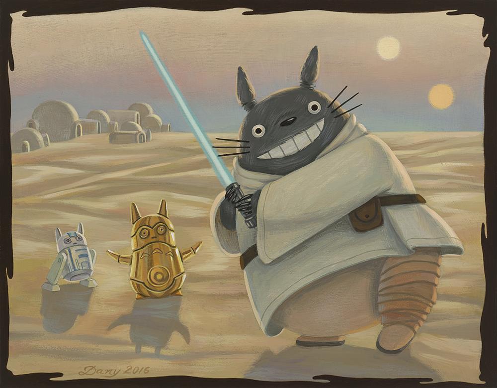 Tatooine Totoro