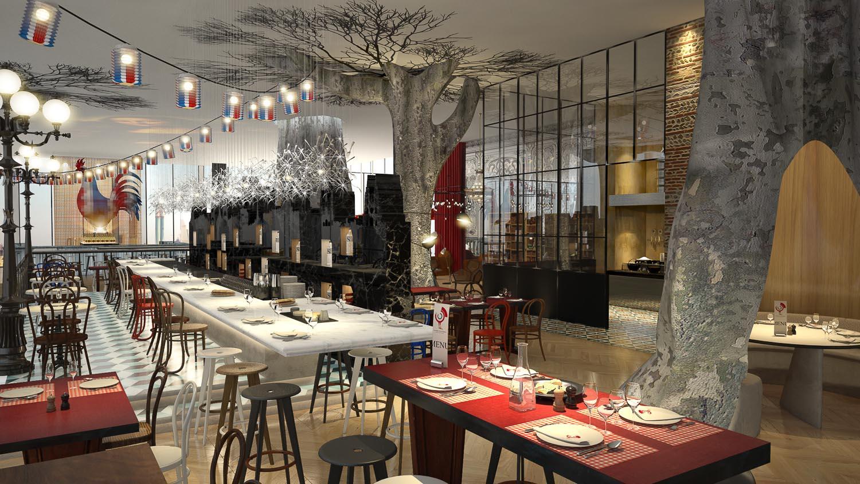 Restaurant • Dubaï •