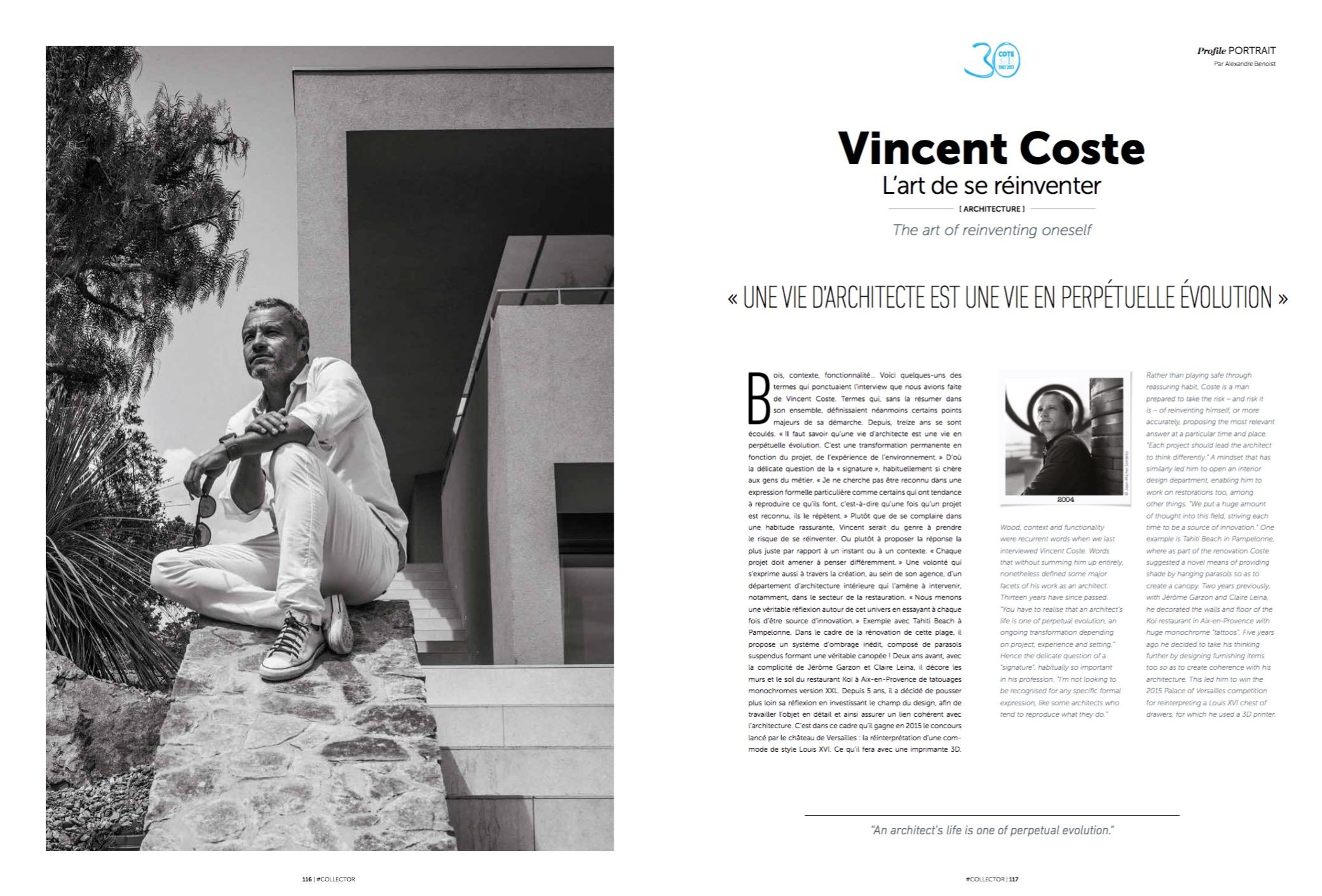 Vincent Coste - Cote Magazine