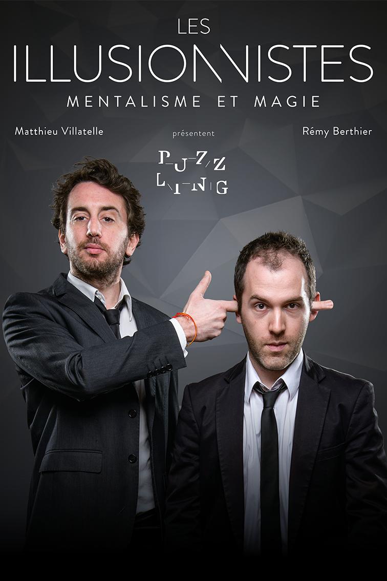 affiche magicien mentaliste