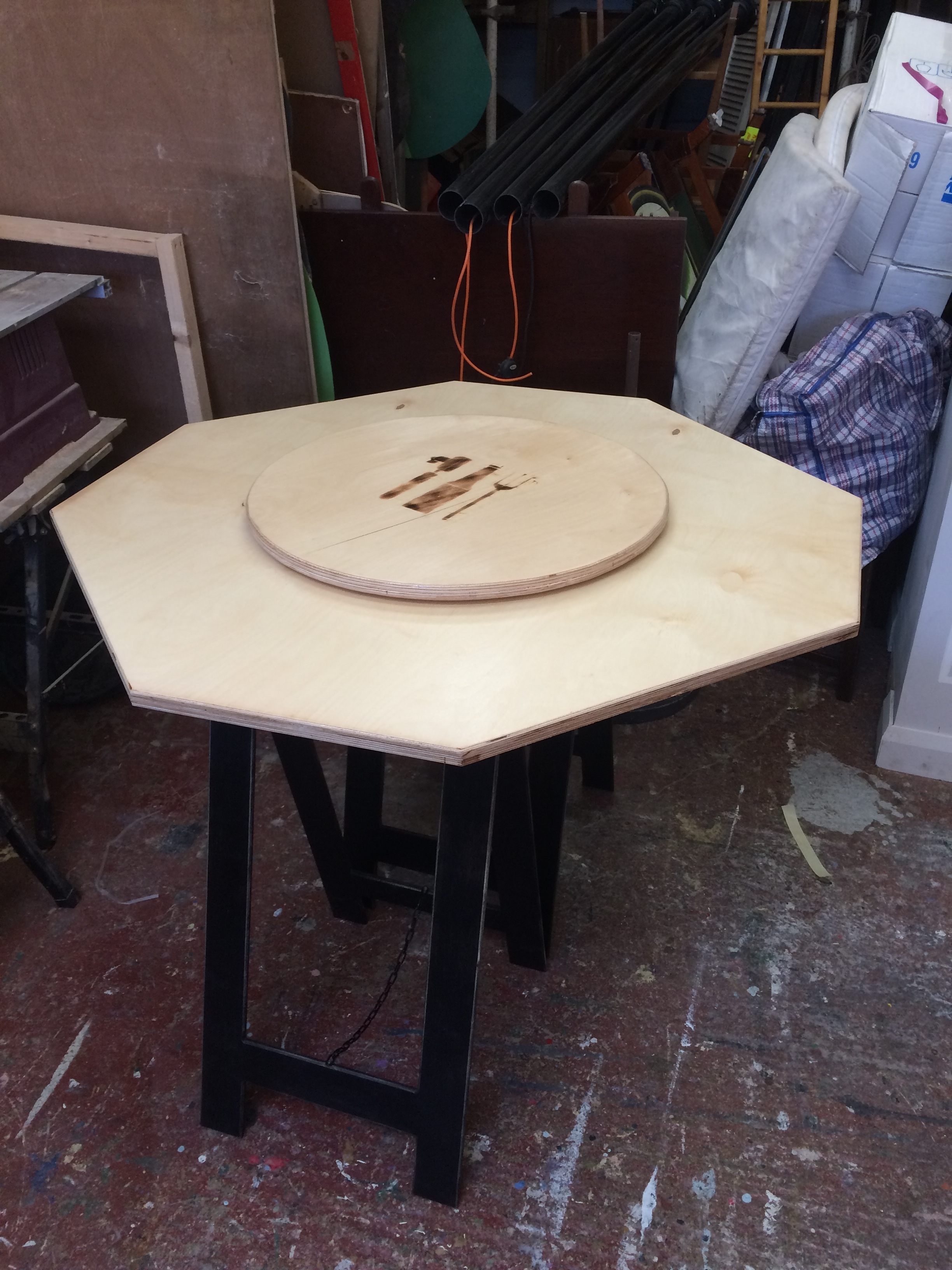 Stir Coffee Cupping Table