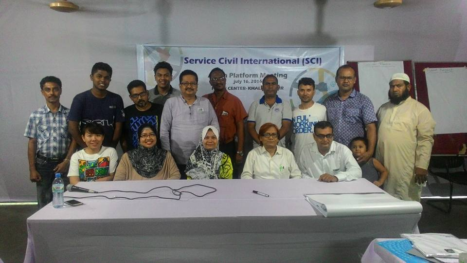 Delegates and Participants from SCI Asian braches and contacts.