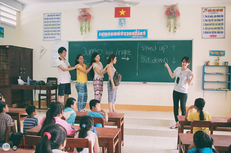 Teaching basic English for the kids