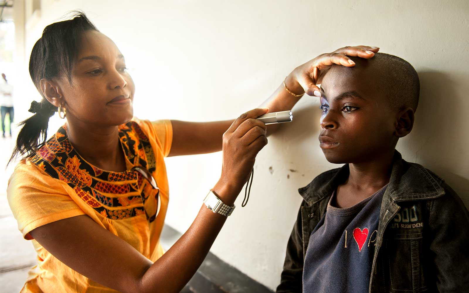 In five years, Rwanda has carried out 2.4 million eye screenings, and over 1.2 million basic treatments have been provided. Image credit:  Clearly