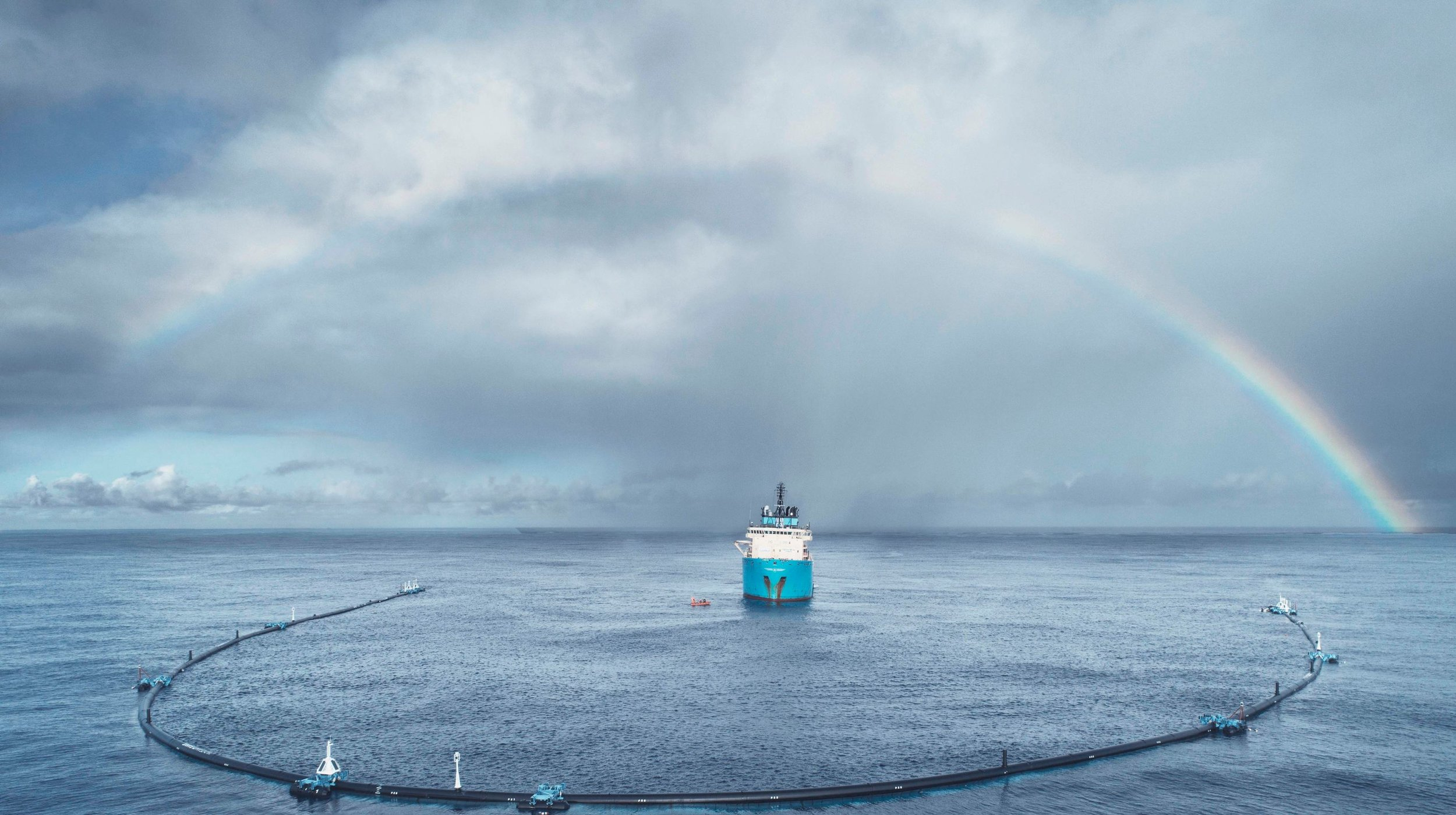 Image credit:  Ocean Cleanup