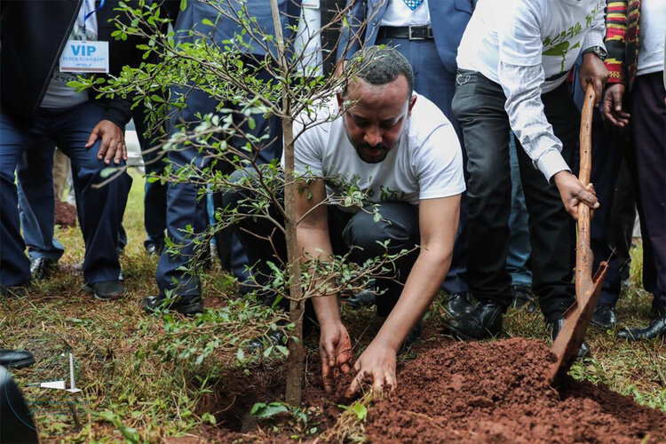 Abiy Ahmed showing why he's Africa's most poplar leader (sorry couldn't help ourselves).  Image credit:   CEO Magazine