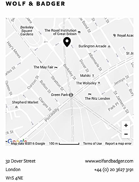 Wolf & Badger Location