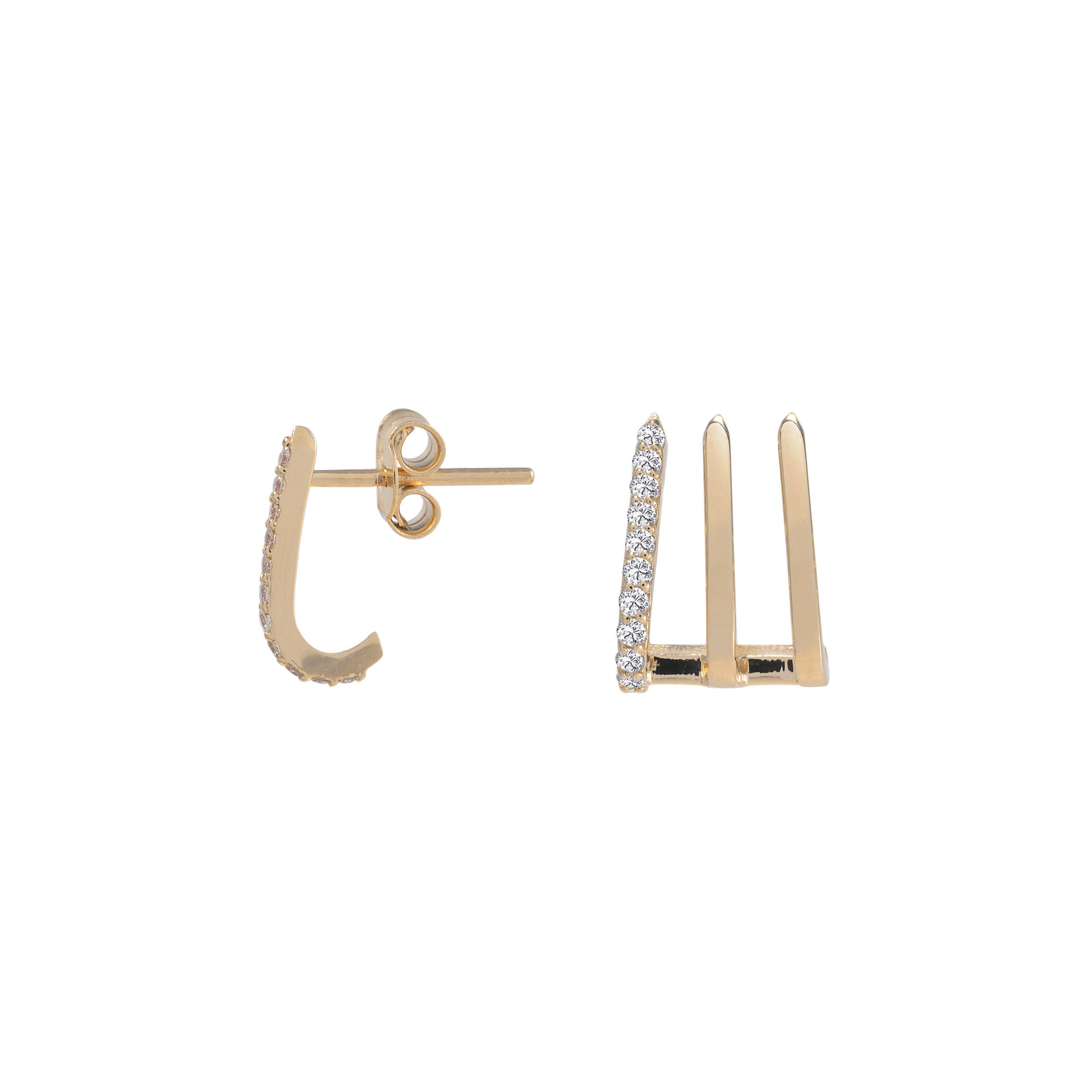 Split Soho Earring
