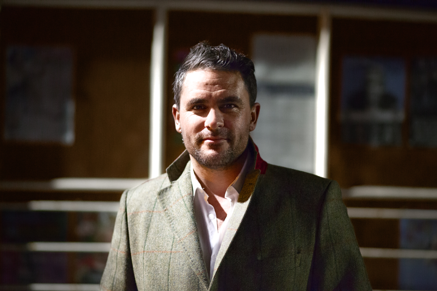 """Levison Wood by Envela Castel for his lecture """"an Evening with Levison Wood""""in Newcastle, U.K."""