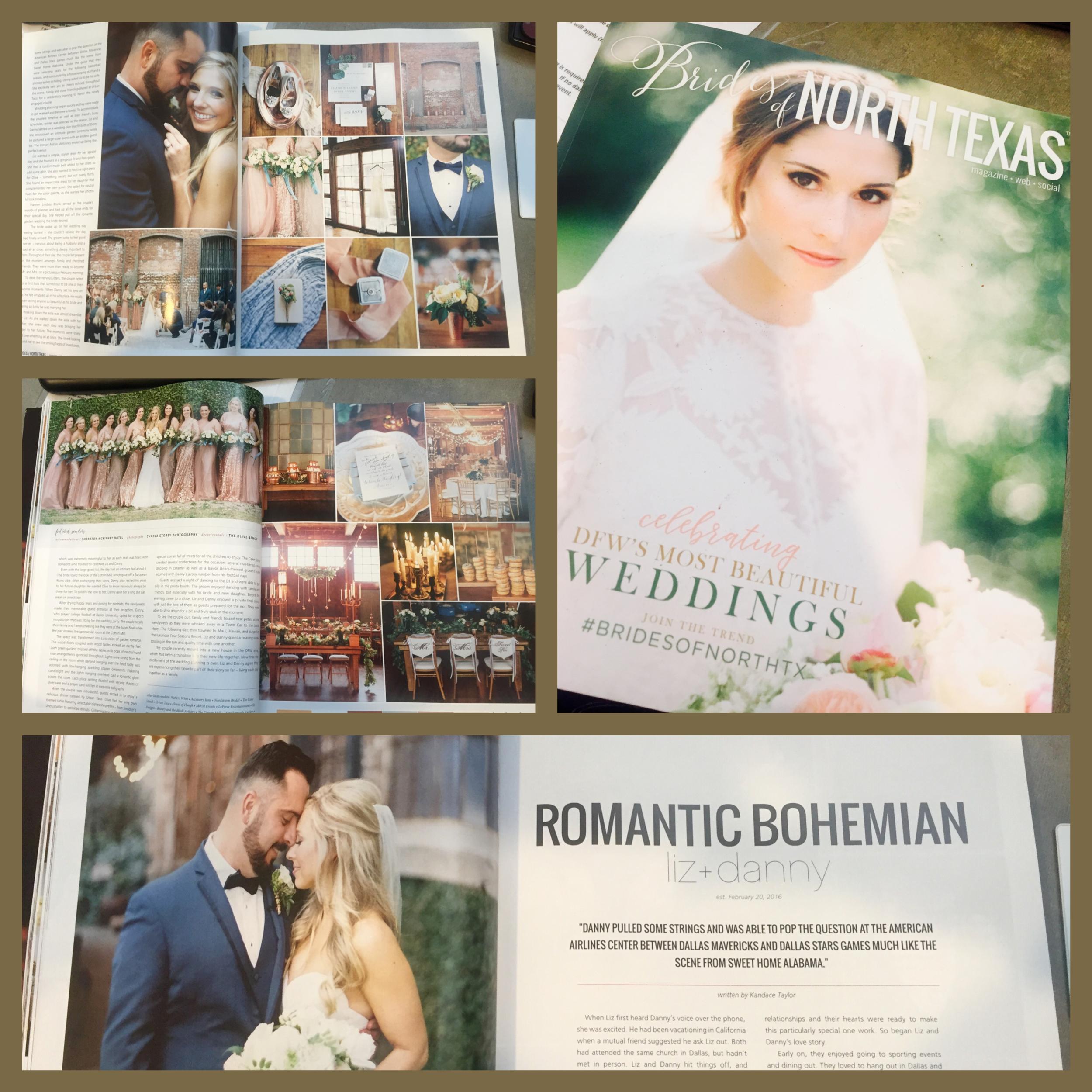 Brides of North Texas Magazine, Fall/Winter 2010    Brides of North Texas Magazine, Fall/Winter 2016