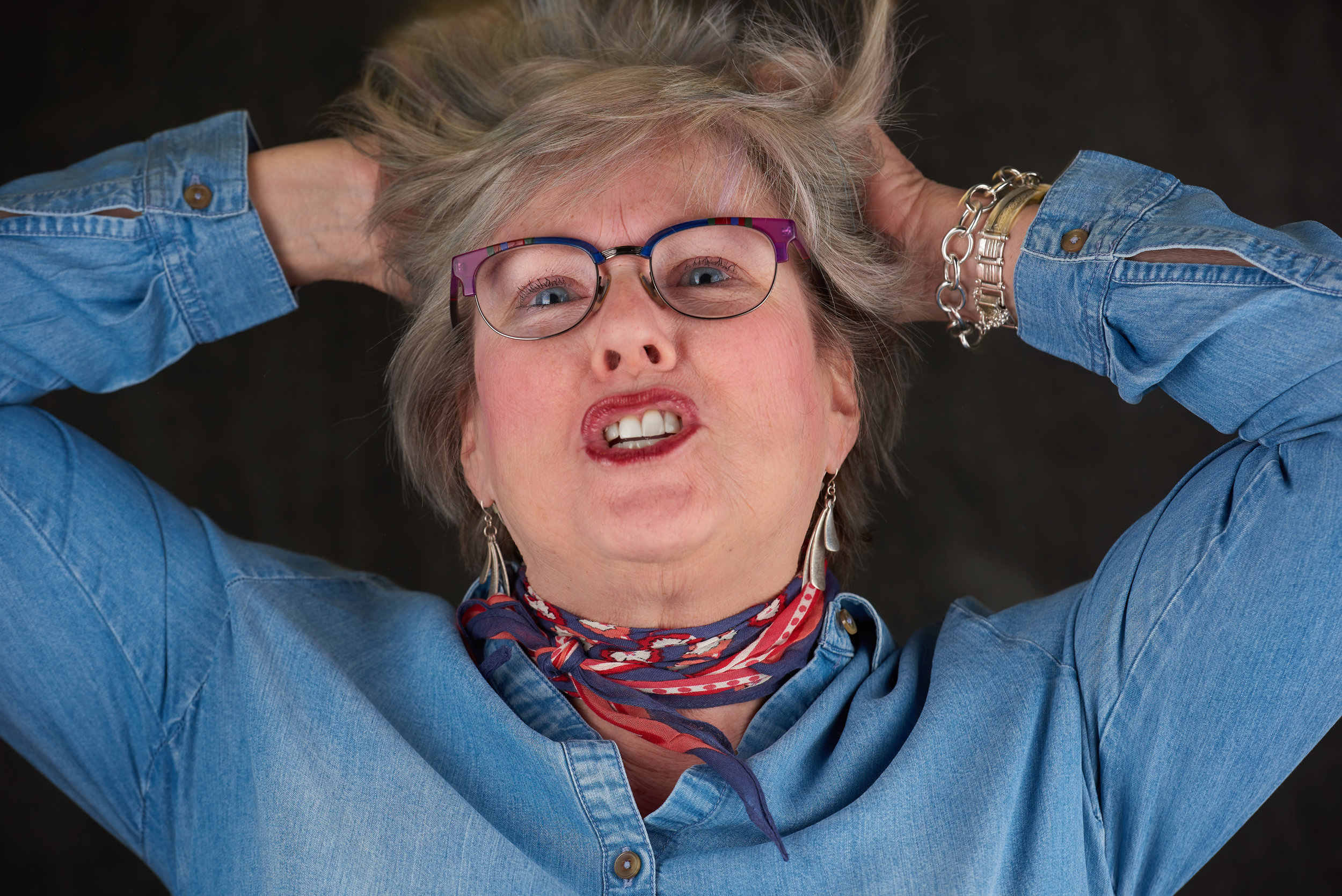 Is this how you feel when you think about having a photographer do your business portrait?