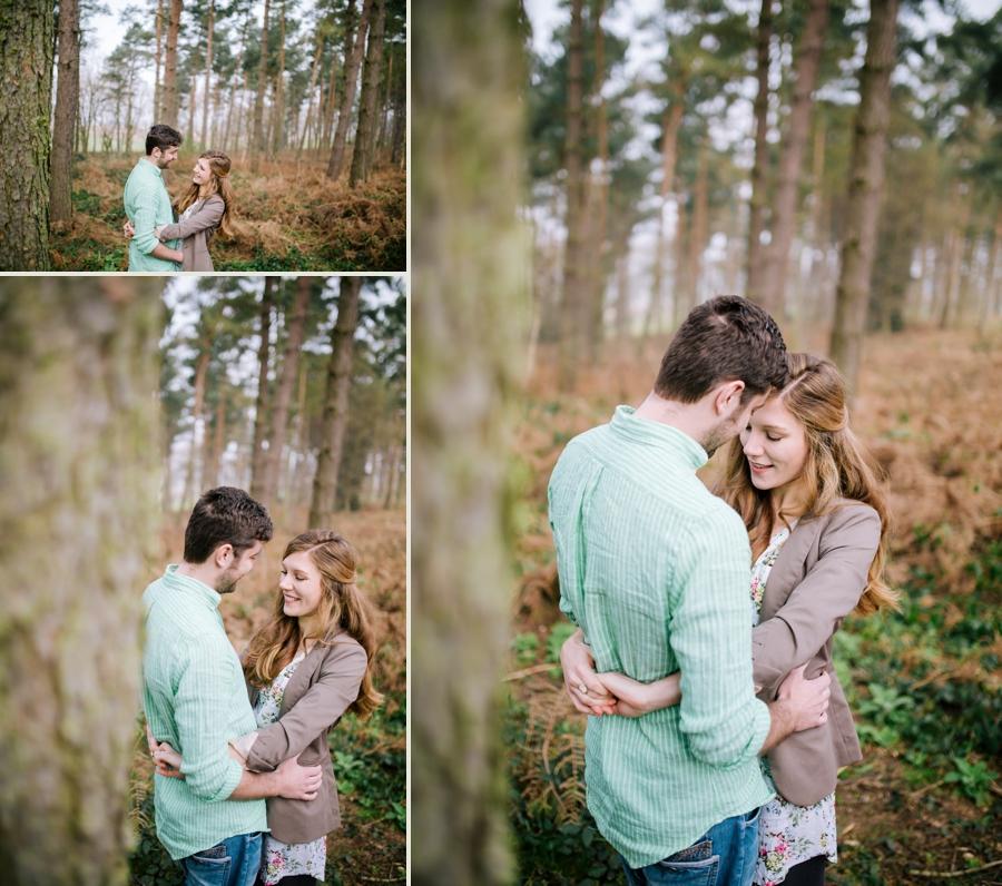 Somerset wedding photographer Emily and Lee engagement shoot 1