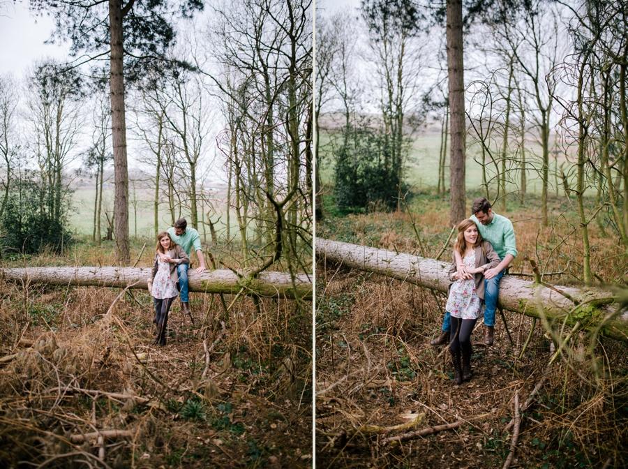 Somerset wedding photographer Emily and Lee engagement shoot 2