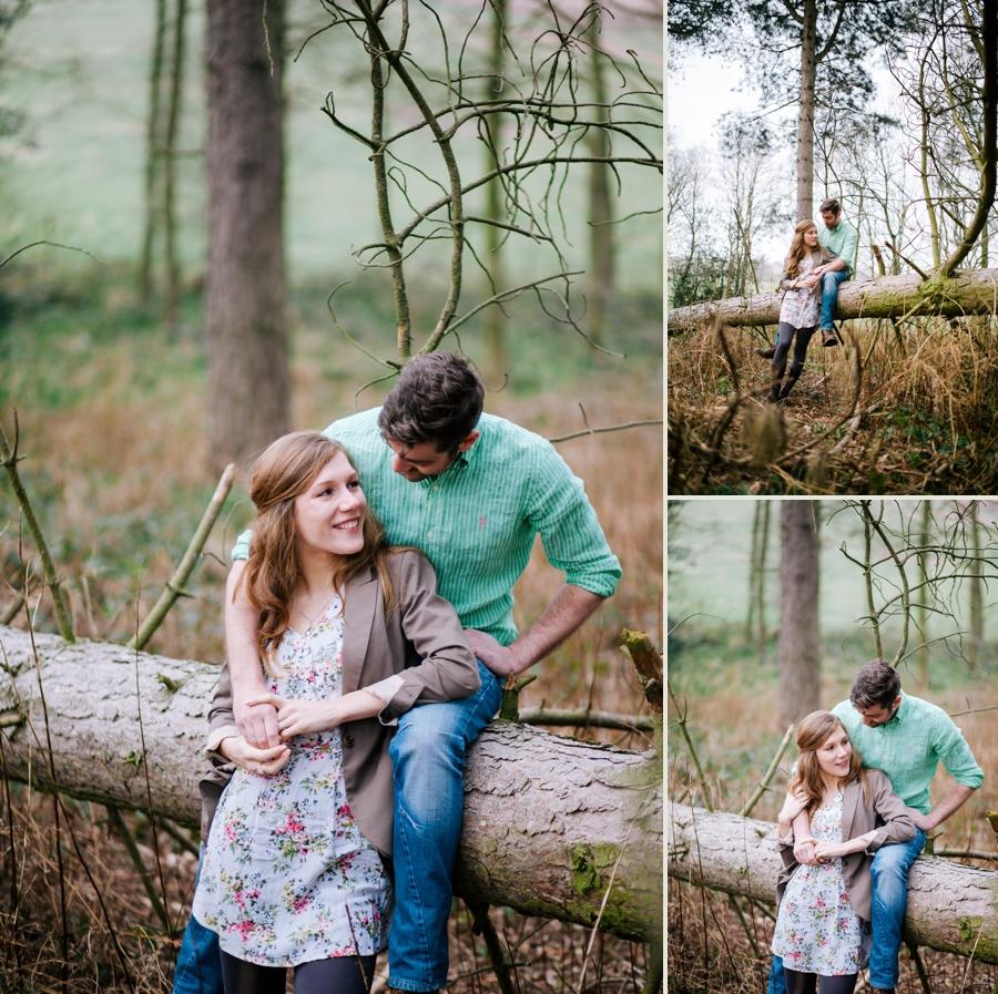 Somerset wedding photographer Emily and Lee engagement shoot 3