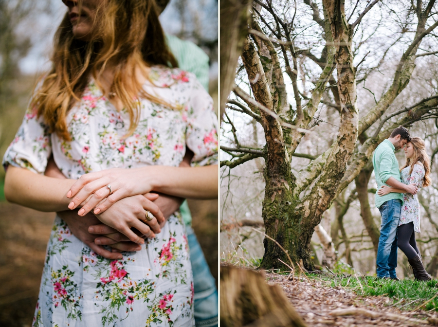Somerset wedding photographer Emily and Lee engagement shoot 6