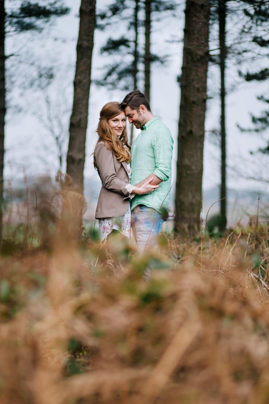Somerset wedding photographer Emily and Lee engagement shoot 14