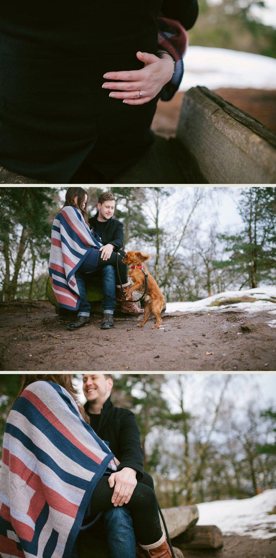 Somerset wedding photographer Sam and Pete engagement shoot 2
