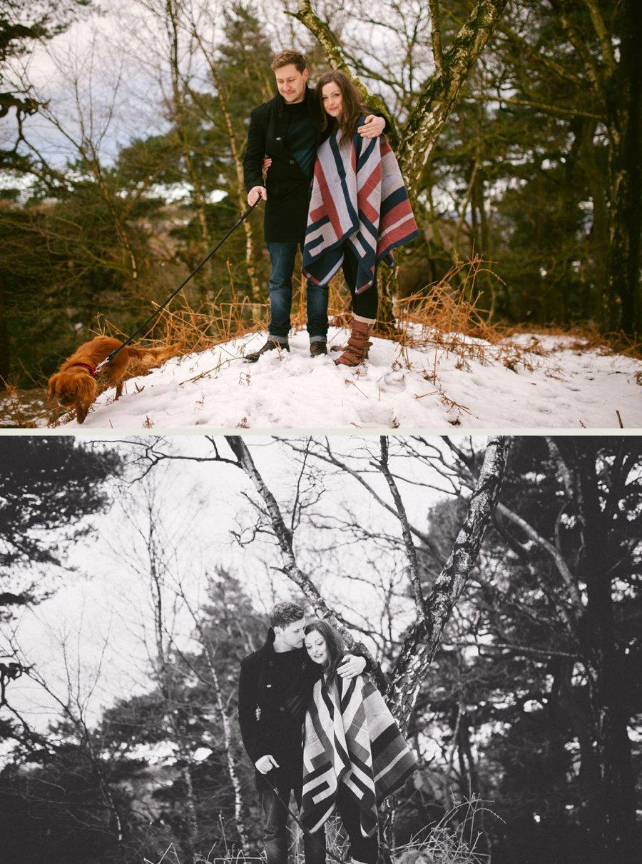 Somerset wedding photographer Sam and Pete engagement shoot 8