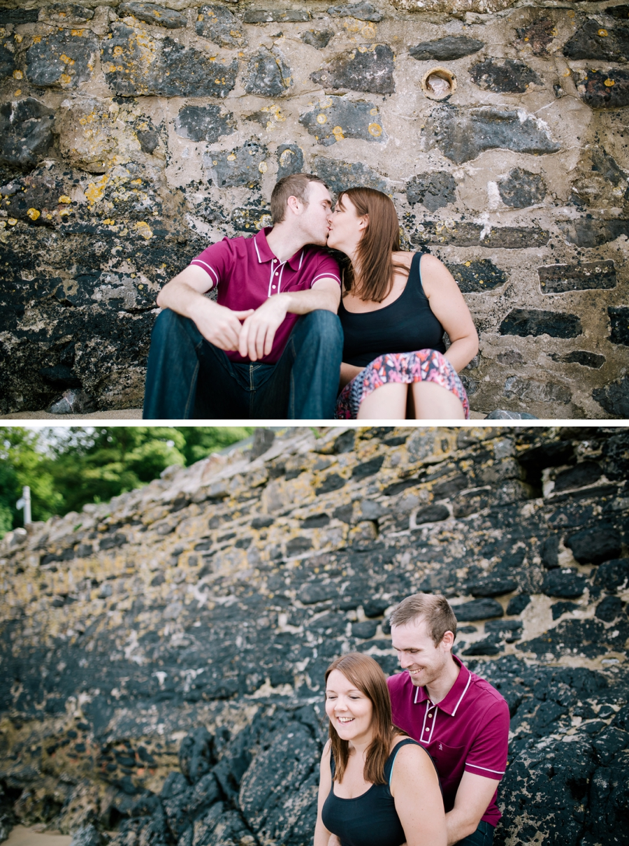 Somerset wedding photographer Gower coast engagement shoot Sarah and Andrew 2