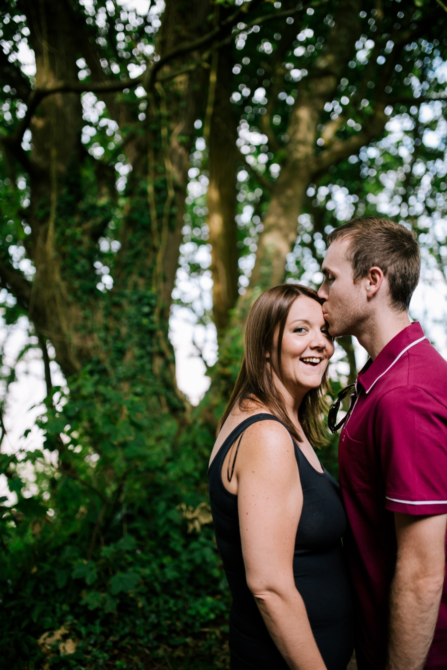 Somerset wedding photographer Gower coast engagement shoot Sarah and Andrew 4
