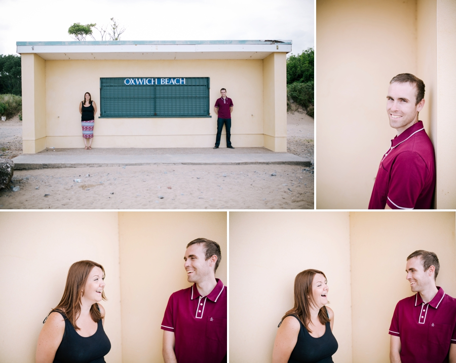 Somerset wedding photographer Gower coast engagement shoot Sarah and Andrew 8