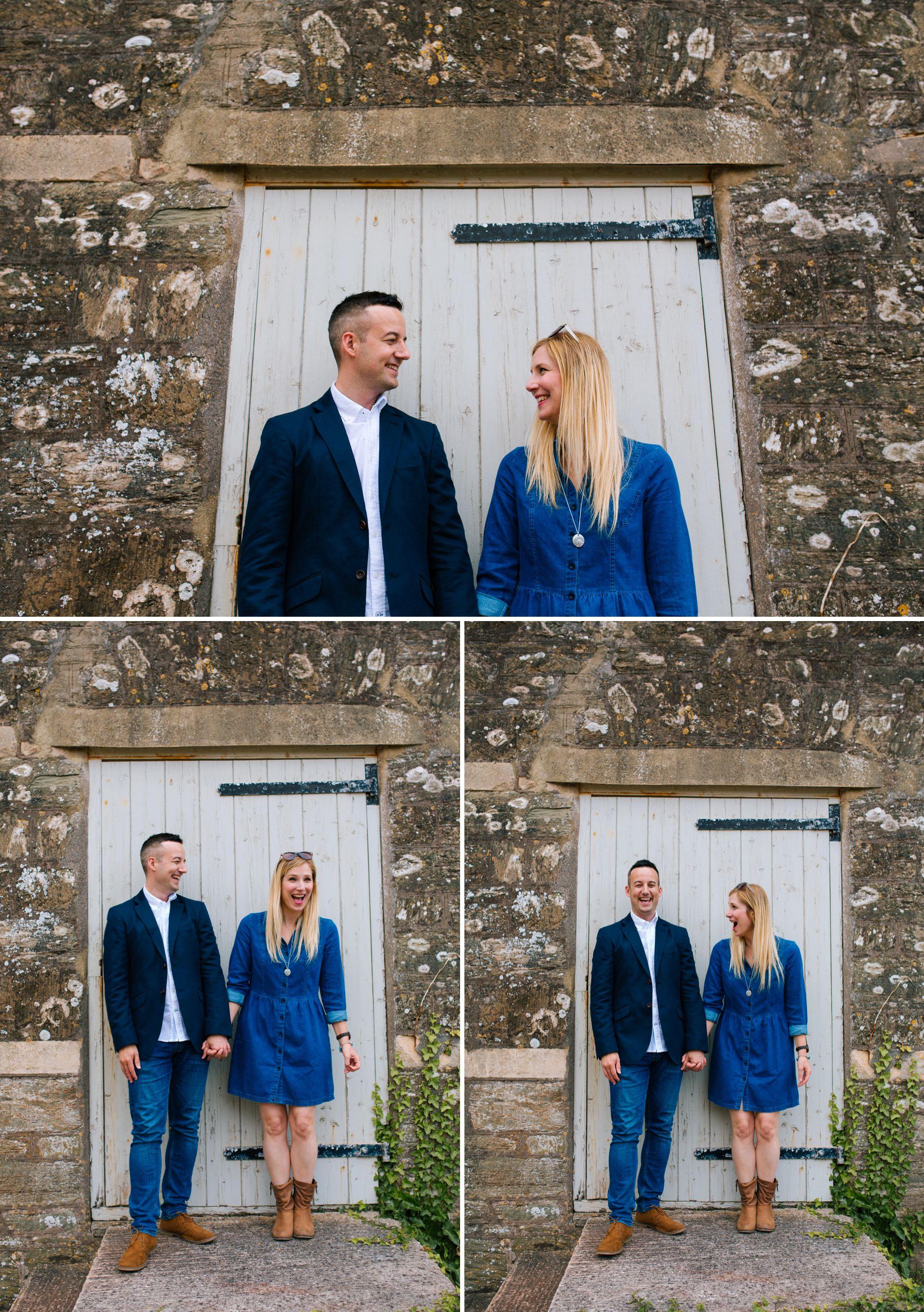 Salcombe Wedding Photographer Hope Cove engagement shoot 01