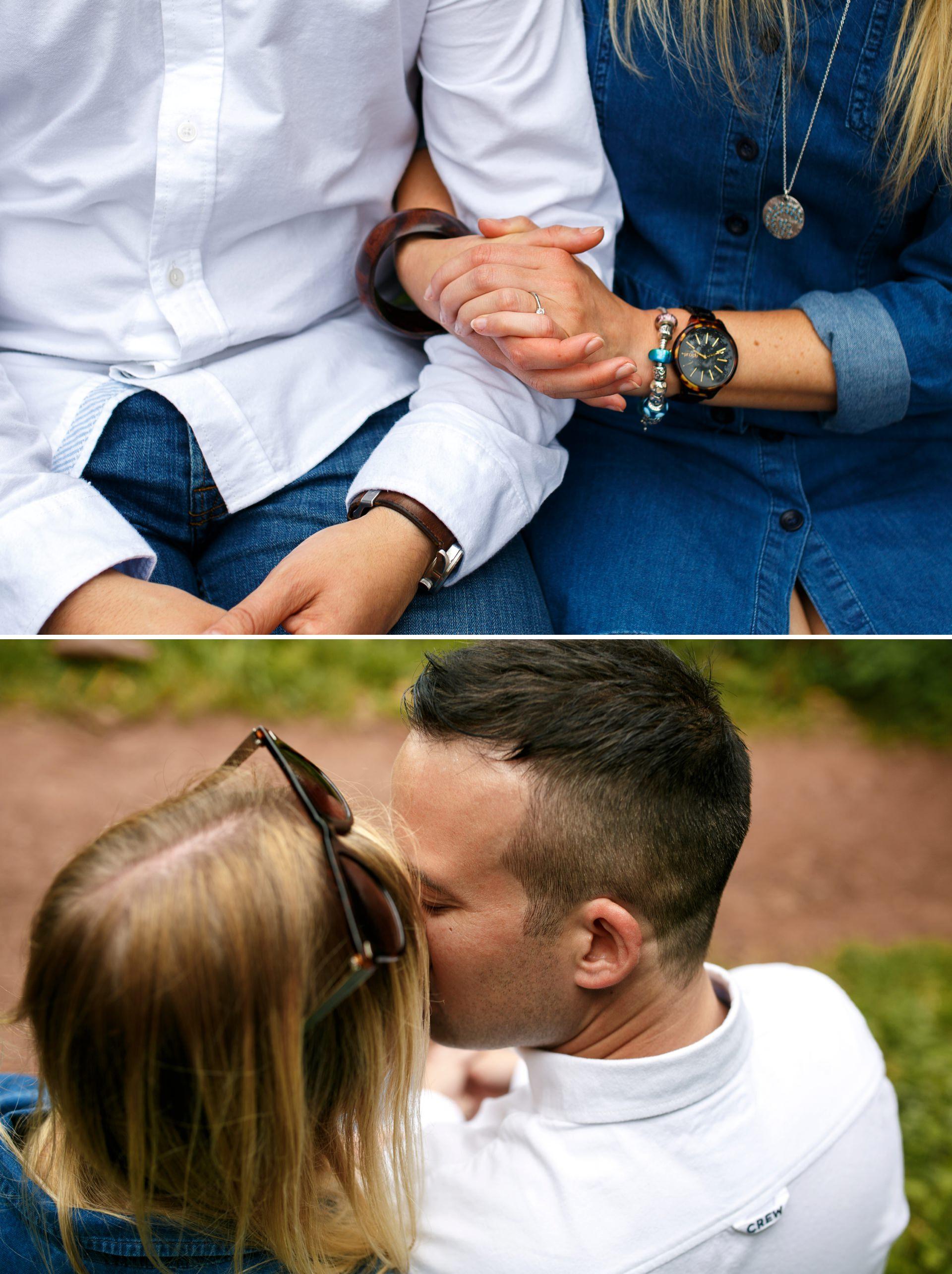 Salcombe Wedding Photographer Hope Cove engagement shoot 07