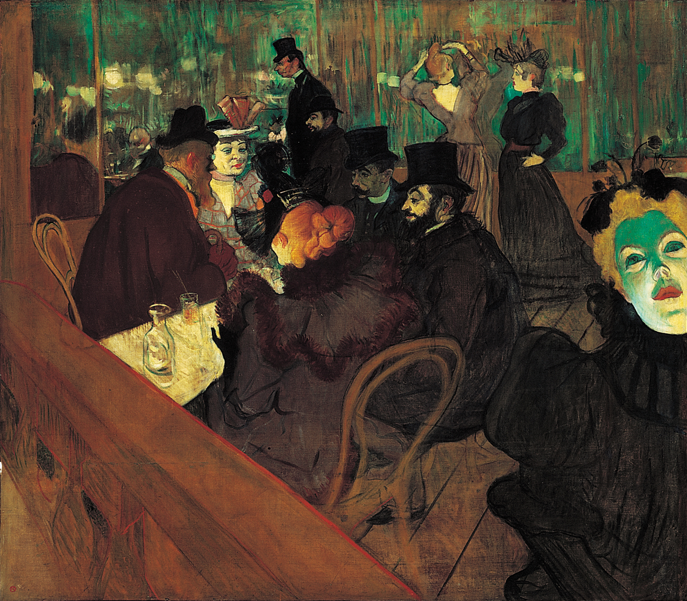 Henri de Toulouse-Lautrec, At the Moulin Rouge