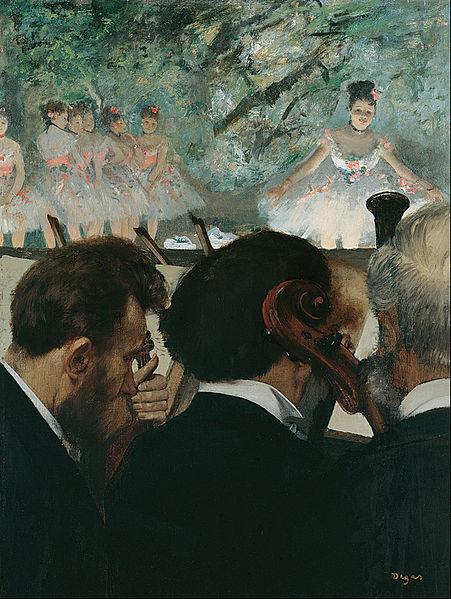 Edgar Degas - Orchestra Musicians