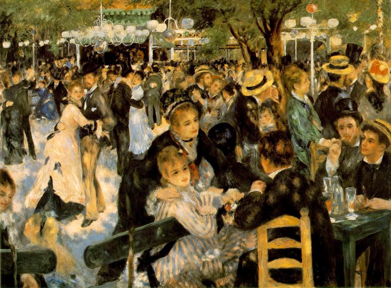 Renoir - La Moulin de la Galette