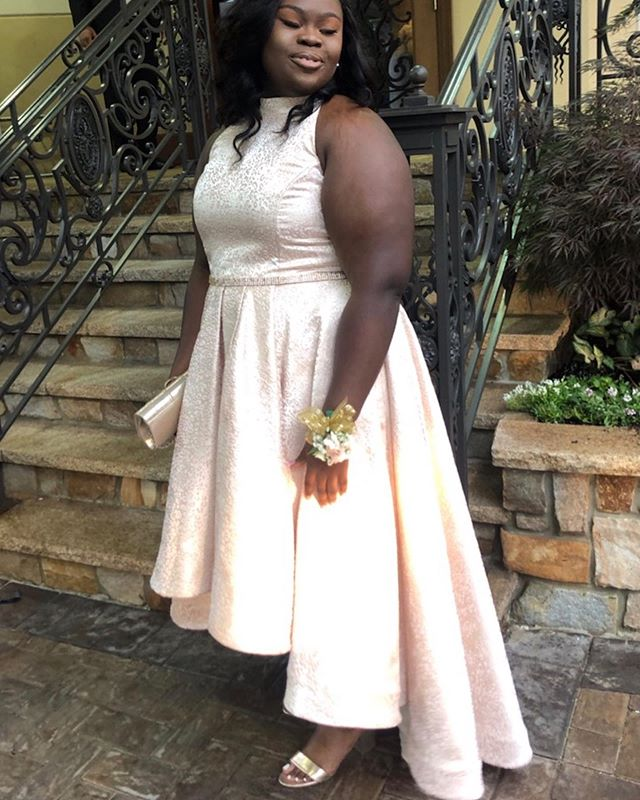 Prom 2019 Congratulations 🎉 #customlyyoursllc #customdress #highlowdress #promdress #highfashiondress