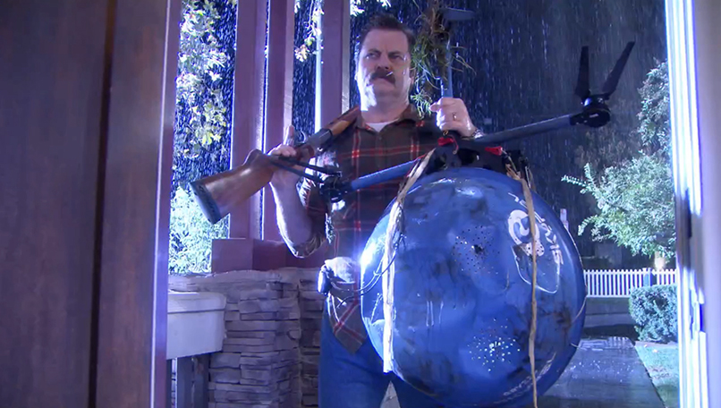 Image of Nick Offerman from Parks and Recreations