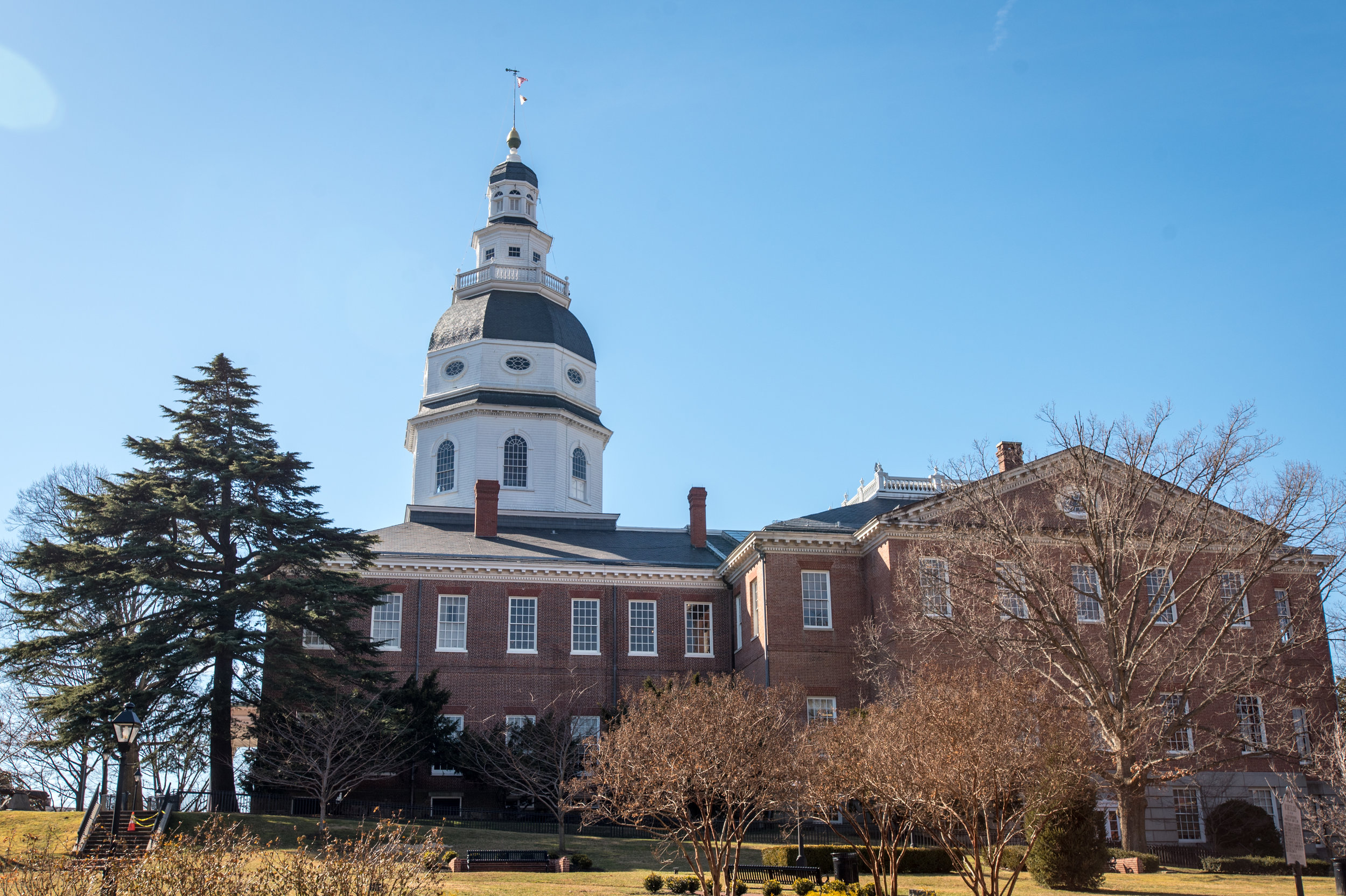 Photo Credit Edwin Remsberg. This is an image of the Maryland State House.