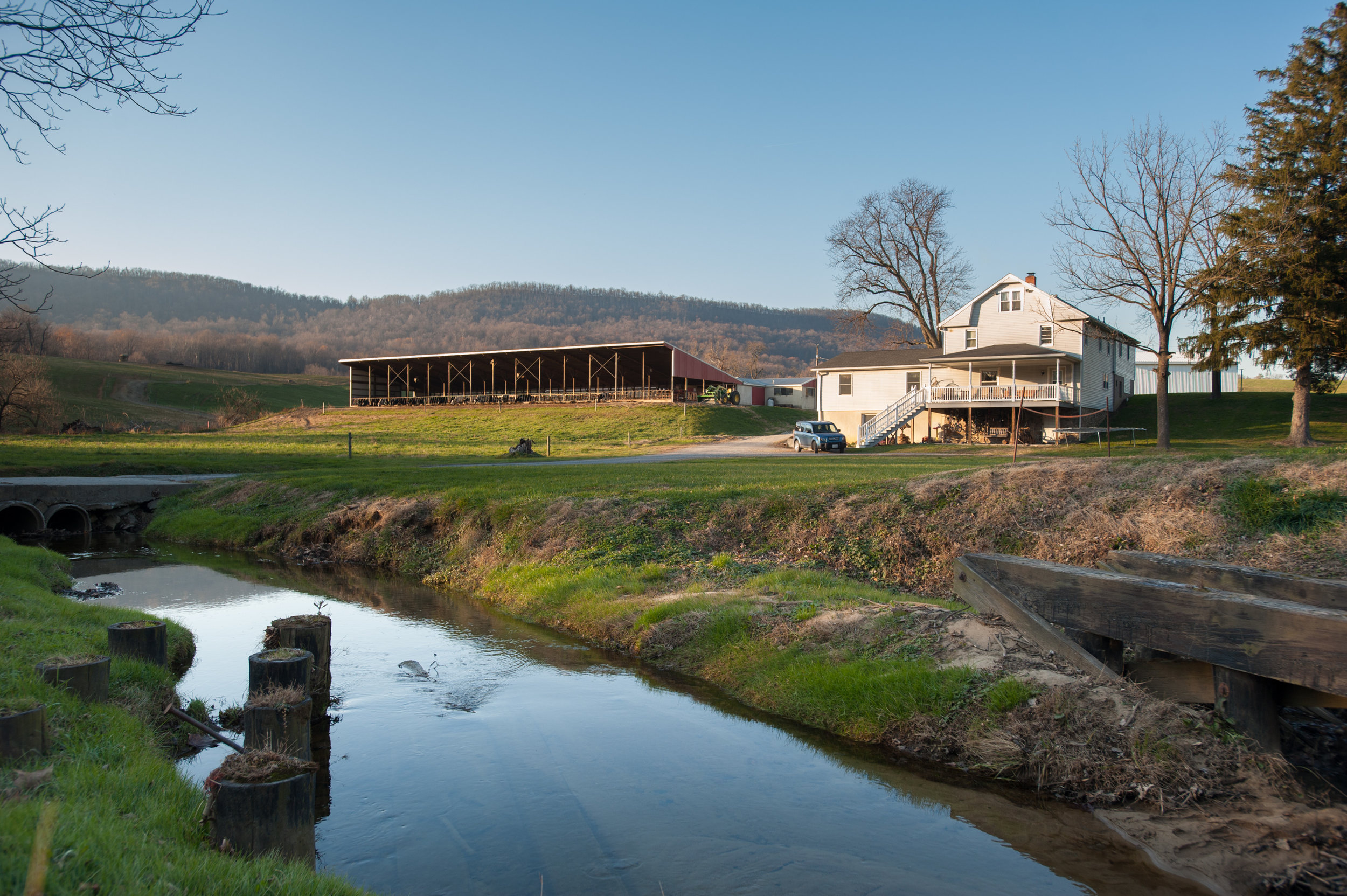 Image of Peace Hollow Farm, Knoxville, MD. Photo credit Edwin Remsberg