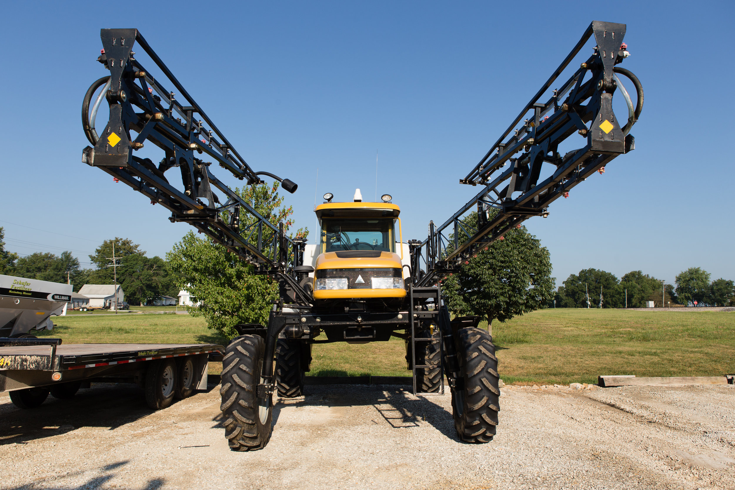 Image of sprayer by United Soybean Board.