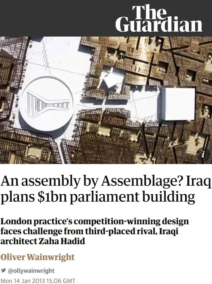 The Guardian  - 14 JANUARY 2013