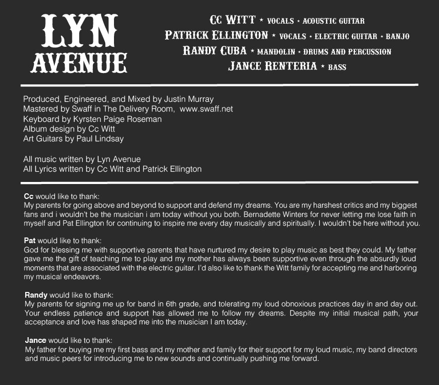Lyn Avenue Cc Witt