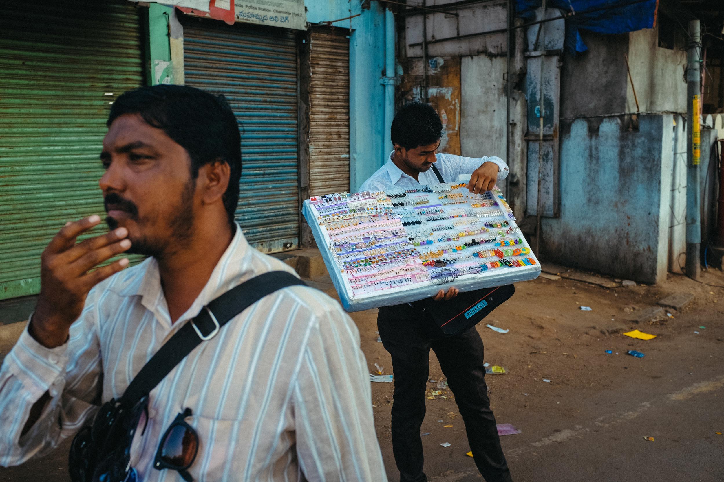 Street Vendor near Charminar